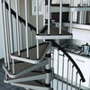 "Metal Spiral Staircase Type ""Gamia"""