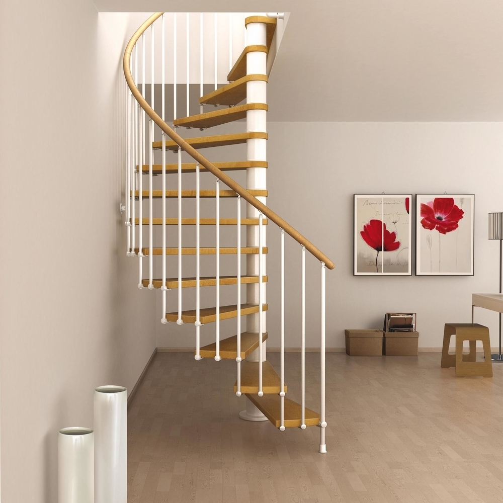 "Space Saving Spiral Staircase Type ""Toscana"""