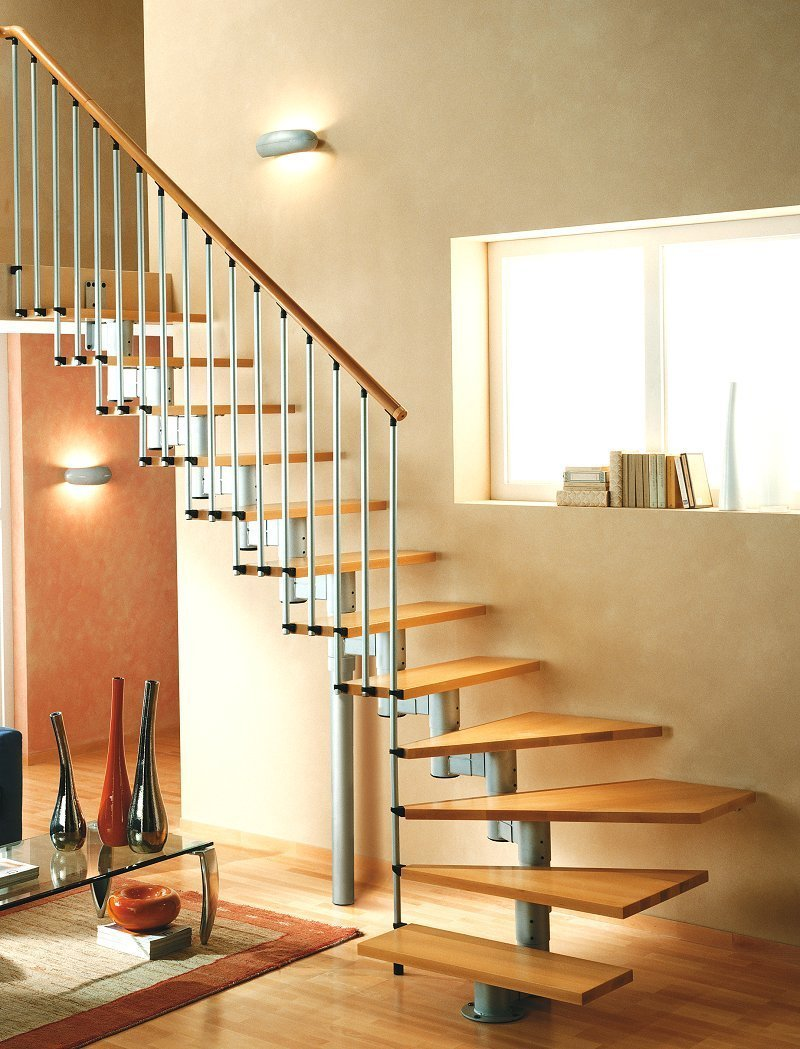 L00l stairs open staircase type universal maxi for Open staircase