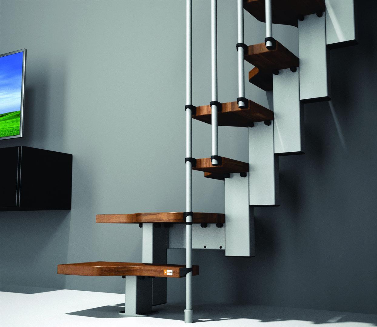 "Space Saving Staircase Designs: Space Saver Staircase Type ""Mini"""