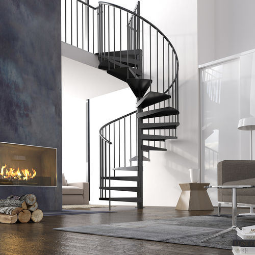 "Spiral Staircase Type ""Firenze"" (Powdercoated)"