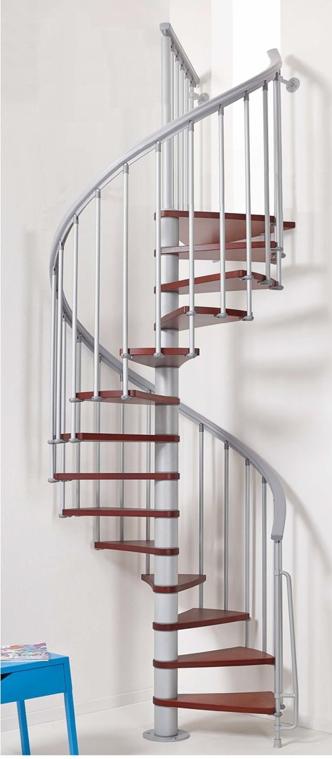 1001 Stairs - Space Saving Spiral Staircase Type
